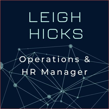 Leigh Hicks Business Card